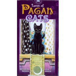 Tarot of Pagan Cats Mini - karty Tarota