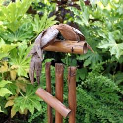 Bambusowe dzwonki wietrzne - Dwa ptaki