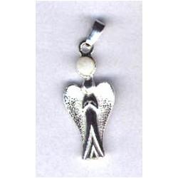 Anioł z kamieniem księżycowym
