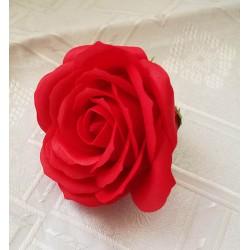 Róża mydlana duża, czerwona