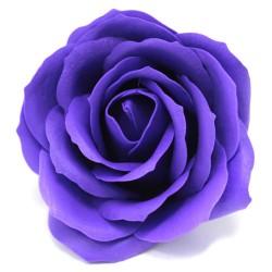 Róża mydlana duża fioletowa