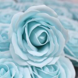 Róża mydlana duża niebieska