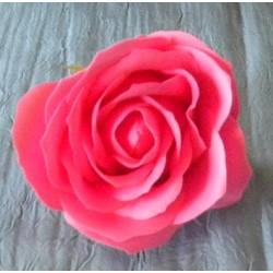 Róża mydlana karmazynowa duża