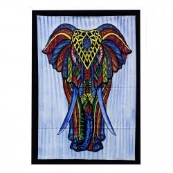 Bawełniana tkanina ozdobna Słoń